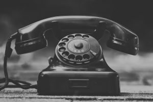 Altes Telefon mit Wählscheibe. (Foto: Alexas_Fotos; Pixabay.com)