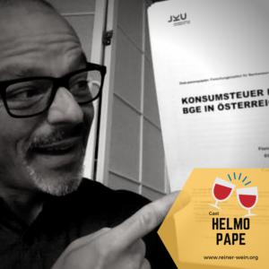 Helmo Pape, Generation Grundeinkommen, Gast bei Reiner Wein