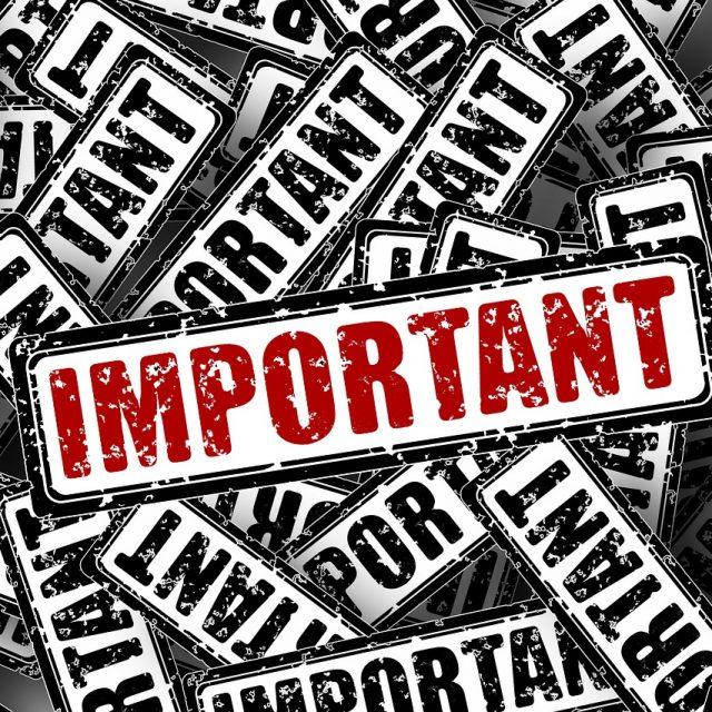 Impressum and Important (Foto: Geralt; Pixabay.com)